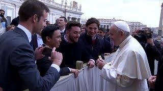 Papa al Foro UNIV: Buscad en la universidad una preparación integral al servicio de la persona