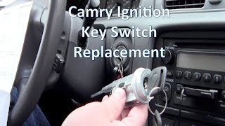 Replace 2000 Toyota Camry Key Ignition Switch/Ignition Cylinder