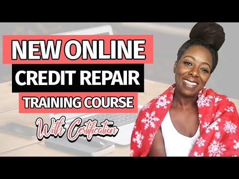 Online Credit Repair Training Course
