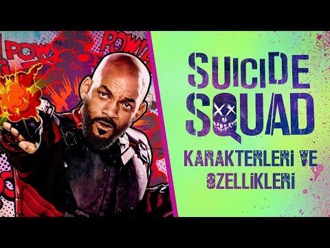 SUICIDE SQUAD Karakterleri ve Özellikleri