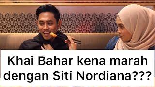 Siti Nordiana dating dengan Khai Bahar