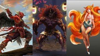 3 Most Dreaded Yokai In Japan: Oni, Kitsune & Tengu Explained | Japanese Mythology And Folklore Ep.8