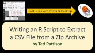 05 Writing an R Script to Extract a CSV File From a Zip Archive