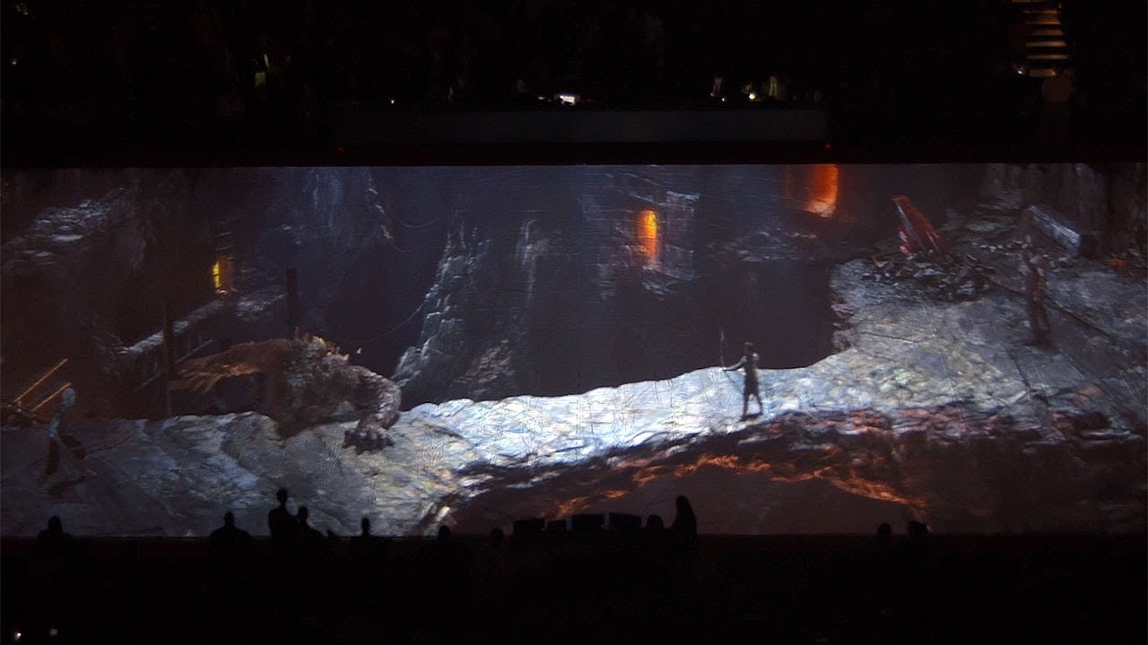 Behind the Scenes of God of War's Epic Half-Time Show