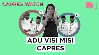 Adu Visi Misi Capres - Capres Watch