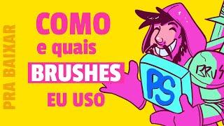 Dicas De Como Uso Os Meus Brushes No Photoshop - Download Grátis Do Pack