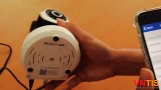 [VNTIS] Hướng dẫn đổi password và xem lại video đã lưu trên thẻ nhớ camera không dây Vision S6203Y