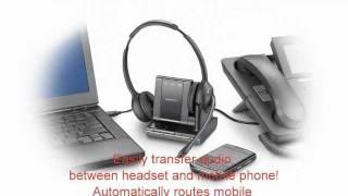Plantronics Savi W710, W720, W730 and W740 from your Headset Amigos at HEADSET.com!