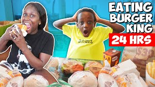 Only Eating Burger King For 24 Hours