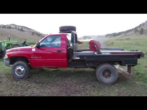 1999 Dodge 3500 4x4 Deweze 475 Bale Bed Hibid Auctions