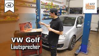 VW Golf 5 Lautsprecher Hochtöner wechseln   Change speaker tweeter   Tutorial   VitjaWolf   HD