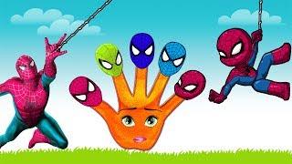 Spiderman Finger Family Collection - Spiderman Finger Family Nursery Rhymes For Children | LidoTV