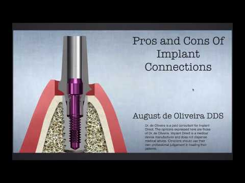 Dental Education: The Evolution of Implant Connections Feb 15, 2017