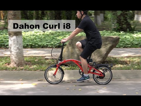 DAHON Curl i8 Folding Bike Review – The Brompton Killer?