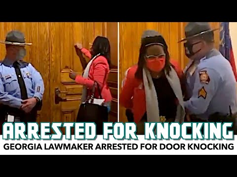 Troopers Arrest Georgia Lawmaker For Knocking On A Door