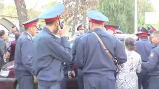 Массовая драка в Шымкенте возле ОКБ (NO COMMENTS)