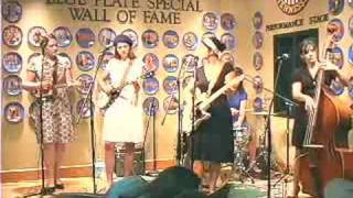 """The Figs perform """"Daddy's gone to Knoxville"""" at WDVX"""