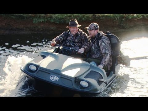 Fieldsports Britain – fun in an Argocat  (episode 114)