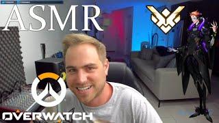 ASMR GM Moira Overwatch Gameplay Coaching / Tips Binaural Soft Spoken / Typing Sounds