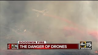 Thousands of people evacuated due to Goodwin Fire