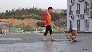 Thi công tăng cứng Hardener cho sàn bê tông