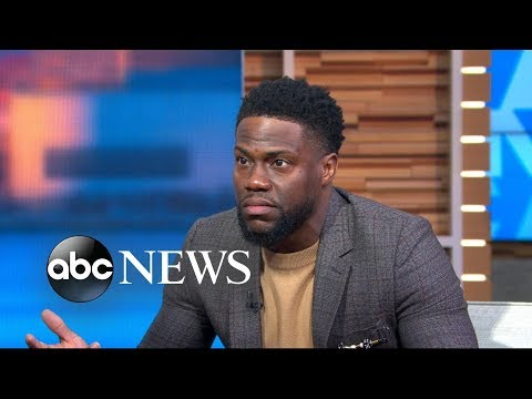 Kevin Hart says he's not hosting the Oscars this year (видео)