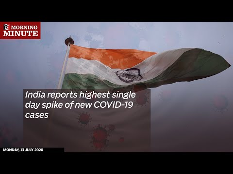India reports highest single day spike of new COVID-19 cases