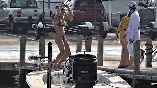 The Docks are Hot at BlackPoint Marina ! (Chit Show Miami)