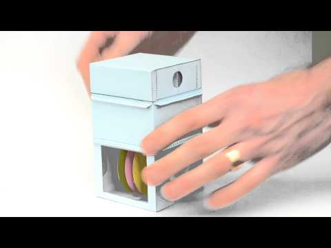 This Combination Lock Made Of Paper Actually Works