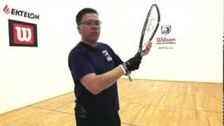 Racquetball: The grip