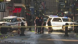 Officers shot, hit man with gun in French Quarter, NOPD says