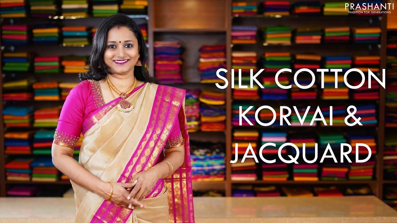 """<p style=""""color: red"""">Video : </p>Korvai &amp; Jacquard   30 Nov 20   Prashanti 2020-11-30"""