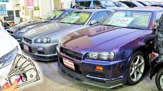 CRAZY RARE GTR'S FOR SALE IN JAPAN!