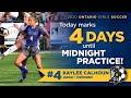 Training Kaylee Calhoun Ontario high Oh 2022 graduate