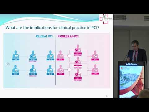 Α. Ντάτσιος - Οξέα στεφανιαία σύνδρομα σε ασθενείς με κολπική μαρμαρυγή