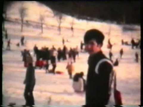 La neve sul Sette Termini, nel 1970