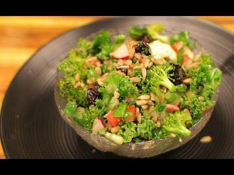 Kale and Bacon Salad – kale salad – keto recipe – healthy recipe channel – keto diet ketones
