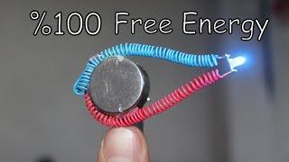 Mıknatıs İle Sınırsız Elektirik Üretimi | FREE ENERGY