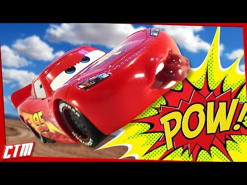 Funny Disney Pixar CARS Outtakes & Bloopers Lightning McQueen & Mater