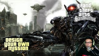 Menghancurkan Shockwave - Transformer The Last Knight Part 5 GTA Extreme Indonesia