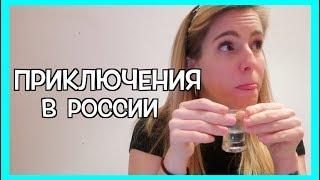 Почему иностранцам нельзя пить водку? Приключения в России 🙈!