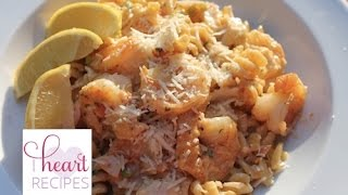 Dinner for two : Seafood Louie Pasta - I Heart Recipes