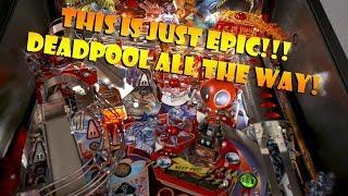 Stern Pinball Deadpool Pro  Sizzle Trailer