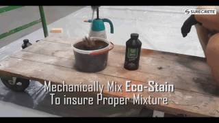 How to Mix Semi Transparent Concrete Stain video thumbnail