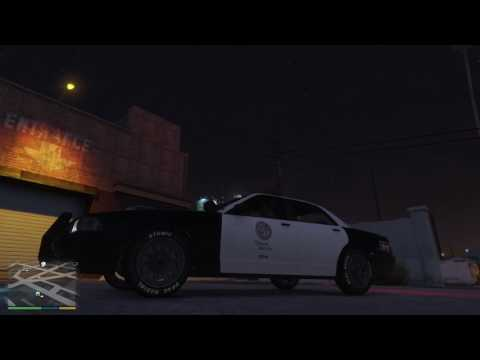 GTA V: Tricked Out Police Car