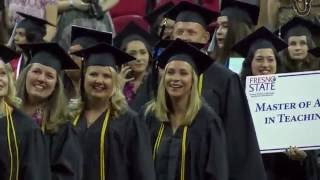 Kremen School of Education and Human Development 2016 Convocation