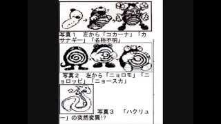 コクーン  - (ポケットモンスター) - 【ポケモン豆知識】ビートル コクーン スピアの没案!?