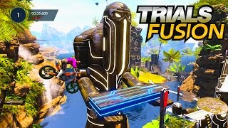 Trials Fusion Welcome To The Abyss DLC Part 1 - THE BEST DLC SO FAR!!