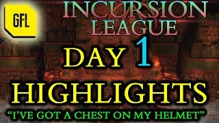 "Path of Exile 3.3: Incursion League DAY # 1 Highlights ""I"