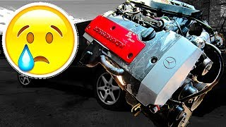 УБИЛ НЕУБИВАЕМОЕ!😡 Пробил прокладку ГБЦ,застучал мотор!Мерседес M111 AutoDogTV| дырявыймерс#35